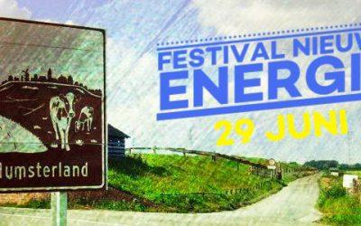 Vooraankondiging Festival Nieuwe Energie 29 juni 2019