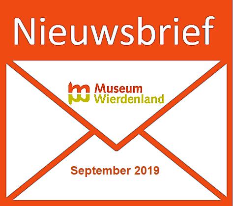 Nieuwsbrief Museum Wierdenland