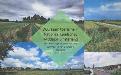 Belangrijke studie over duurzaam toerisme in Middag-Humsterland