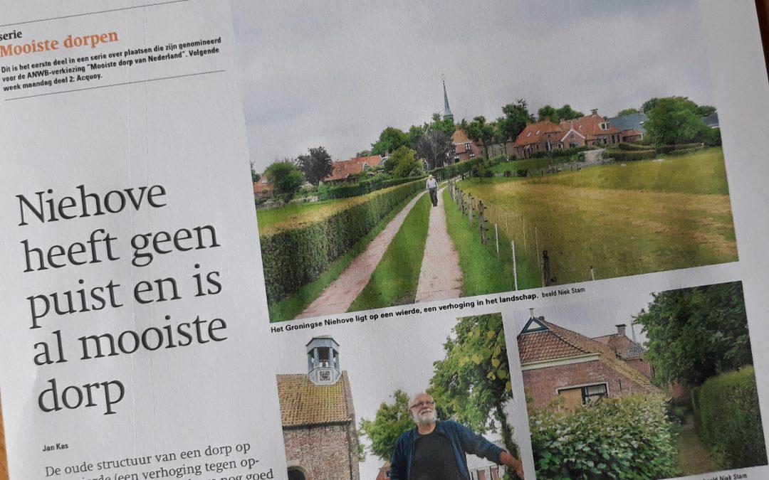 Niehove in Reformatorisch Dagblad